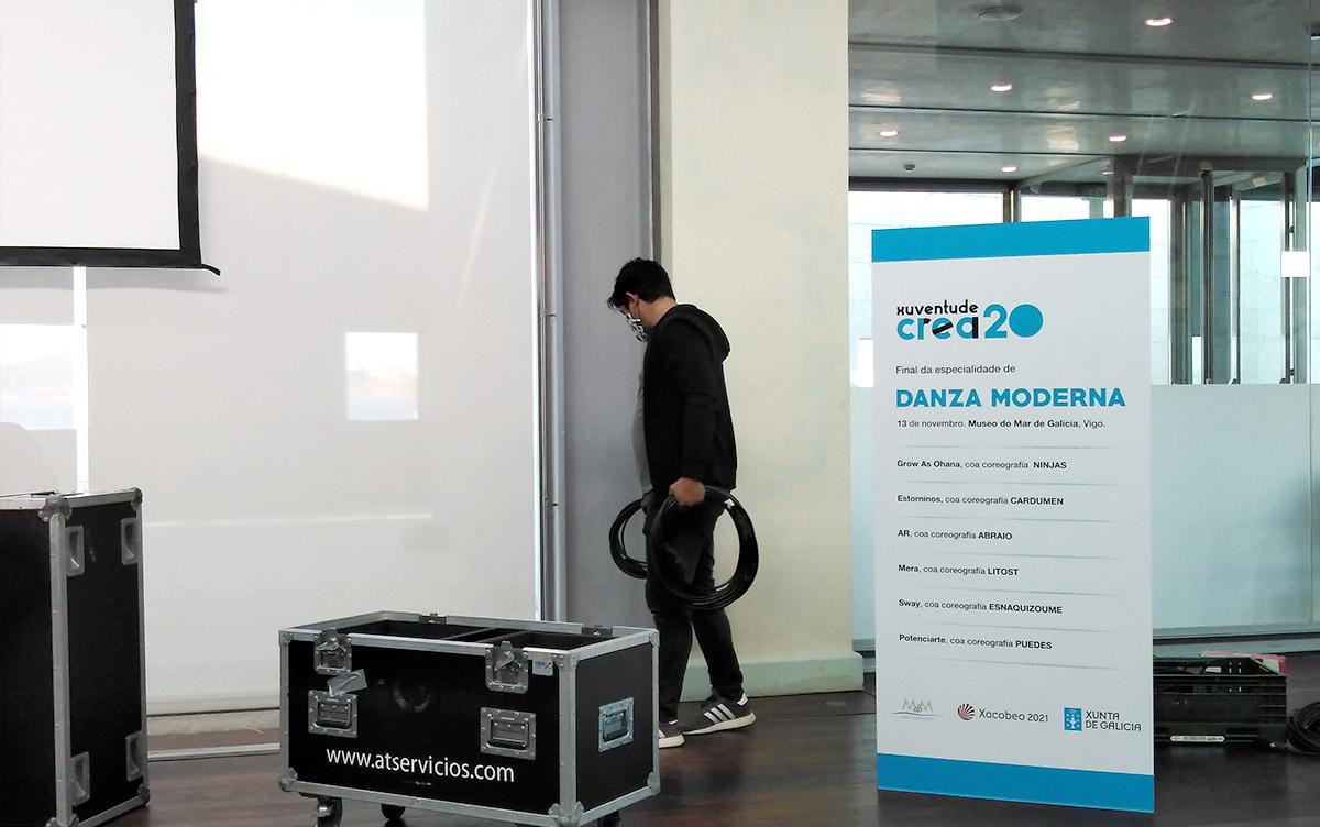 AT Tecnoloxía para eventos - Xuventude Crea 2020