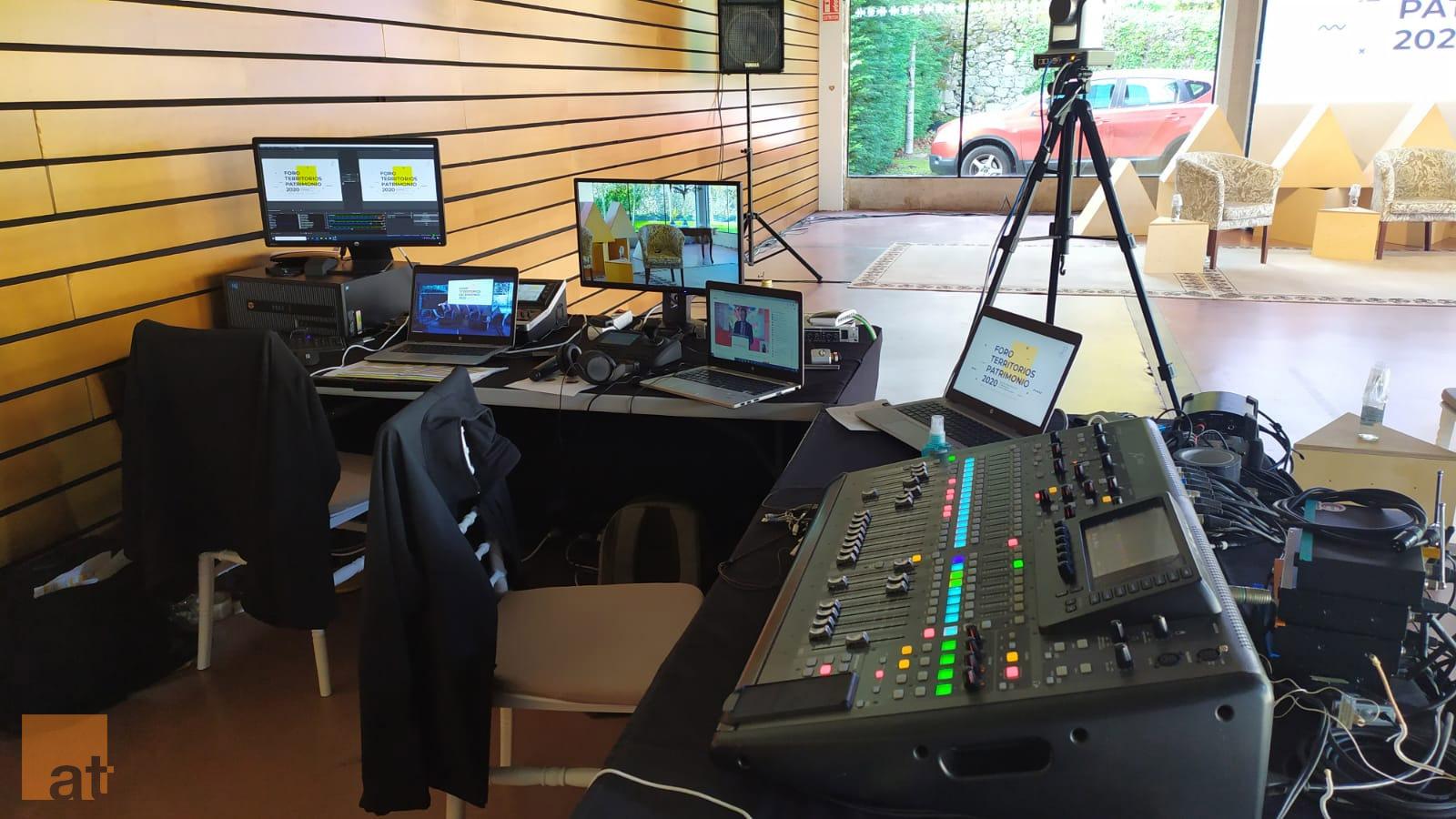 AT Tecnoloxía para eventos