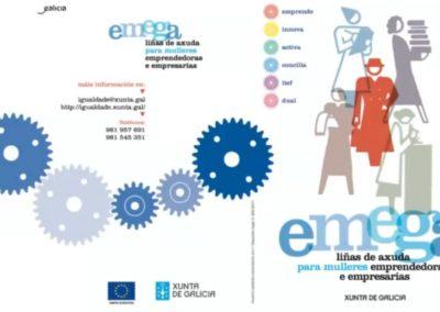 Presentación das axudas EMEGA 2020 da Xunta de Galicia, en Santiago de Compostela