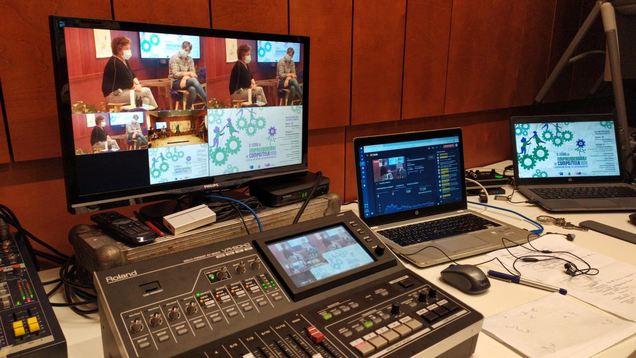 AT tecnologia para eventos - II Feria Emprendedoras Compostela