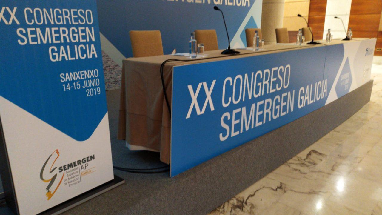 Tecnoloxía AT para eventos - Semergen