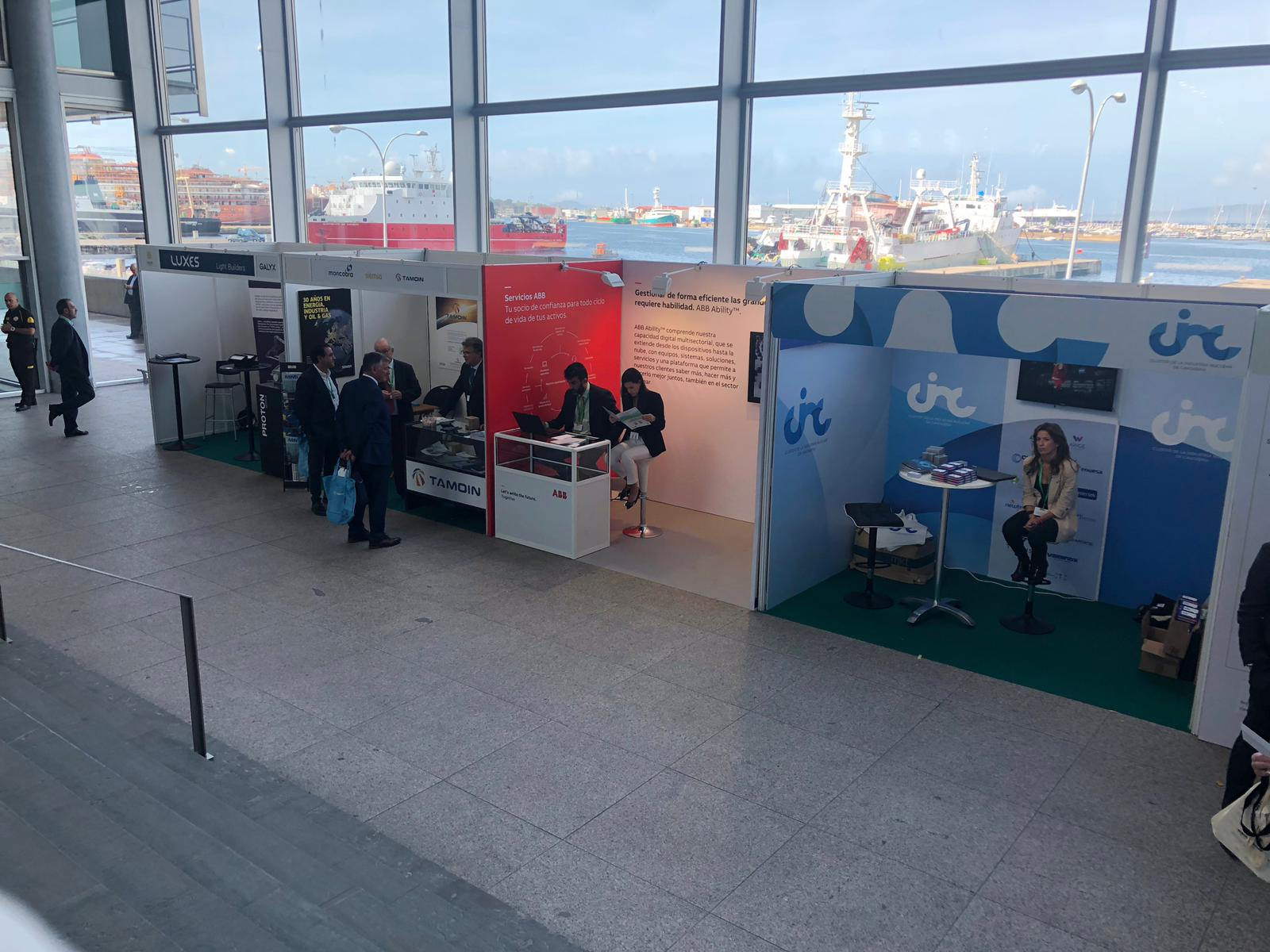 Exposición anual SNE, en el Auditorio Mar de Vigo