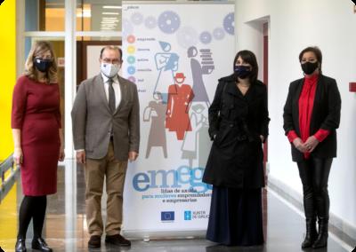 III Encontro de Emprendedoras do Programa EMEGA, da Xunta de Galicia, en Santiago de Compostela
