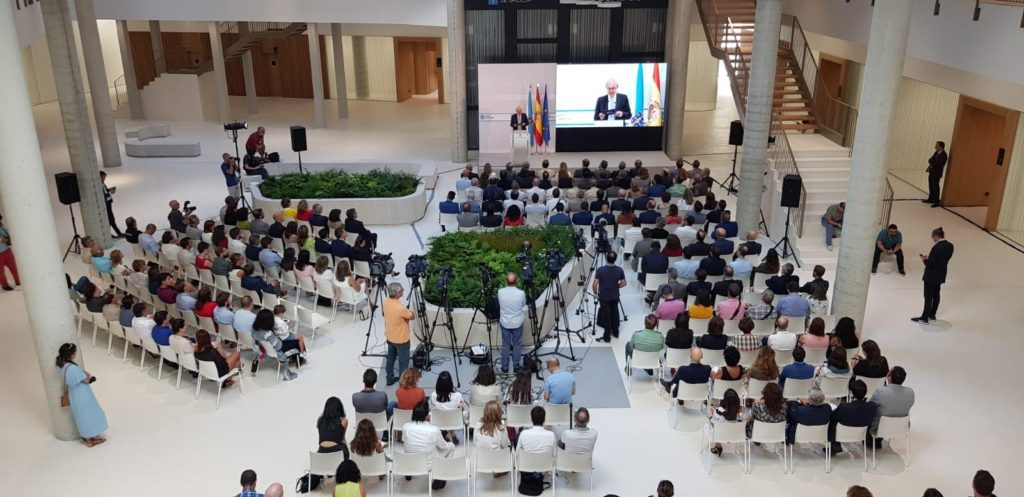 Inauguración Xulgados de Porriño (Pontevedra)