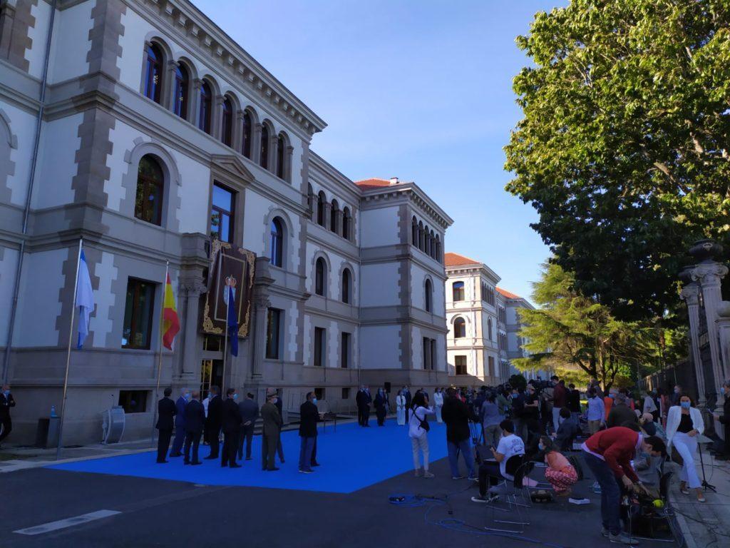 Toma de posesión del Gobierno de la Xunta de Galicia, en San Caetano