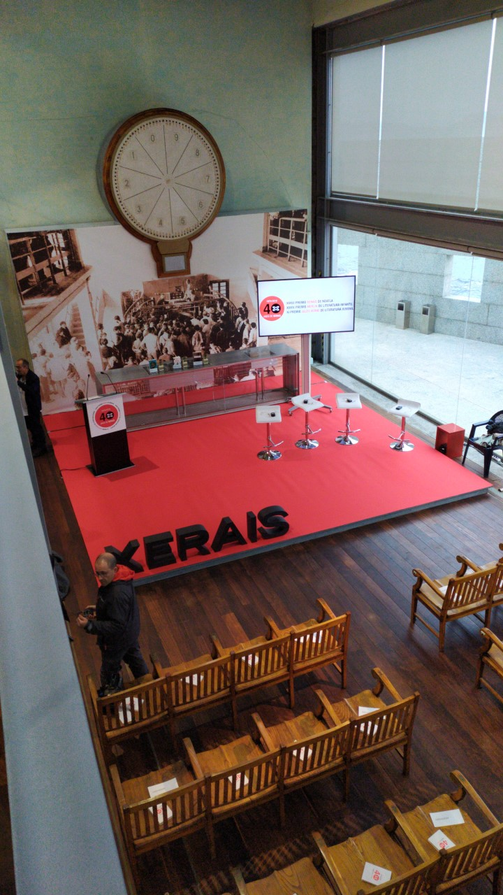 Entrega Premios Xerais, en el Museo do Mar de Galicia