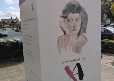 Exposición Día das Letras Galegas, Xela Arias